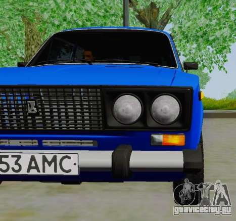 ВАЗ 21061 для GTA San Andreas вид справа