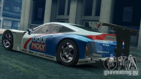 Honda HSV-010 GT для GTA 4 вид слева