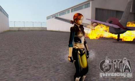 Jessica для GTA San Andreas четвёртый скриншот