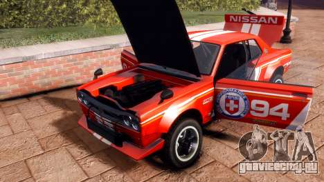 Nissan Skyline 2000 GTR SH для GTA 4 вид справа