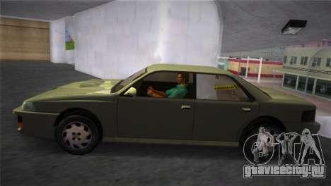 Sultan from GTA San Andreas для GTA Vice City вид сзади слева