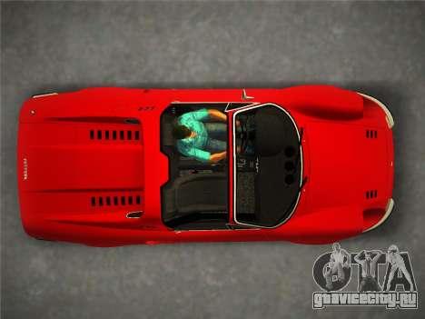 Ferrari 246 Dino GTS 1972 для GTA Vice City вид сзади слева