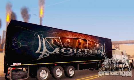 Прицеп Chereau Morton Band 2014 для GTA San Andreas вид справа