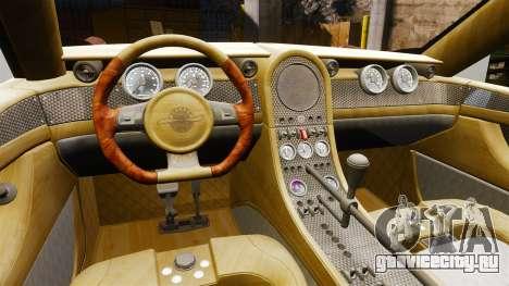 Spyker D8 для GTA 4 вид сзади