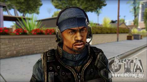 Sami GIGN from Soldier Front 2 для GTA San Andreas третий скриншот