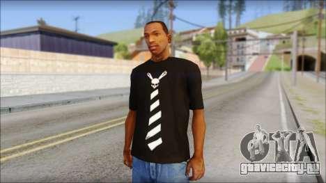 SkullTie T-Shirt для GTA San Andreas