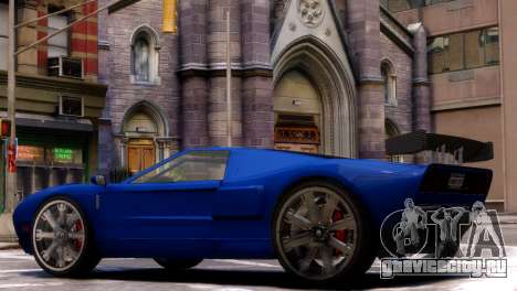 GTA V Bullet для GTA 4 вид слева
