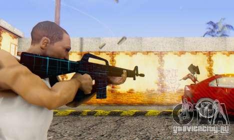 Abstract M16 для GTA San Andreas второй скриншот