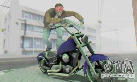 Biker A7X 2 для GTA San Andreas шестой скриншот