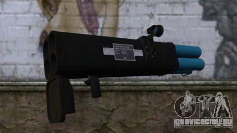 M20 BRS Rocket Launcher для GTA San Andreas второй скриншот