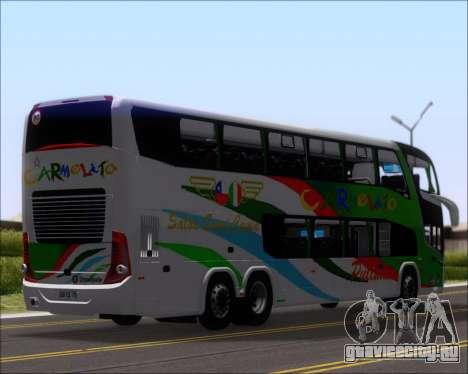 Marcopolo Paradiso G7 1800 DD 6x2 Scania K420 для GTA San Andreas вид сзади