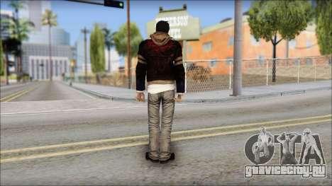 Unhooded Alex from Prototype для GTA San Andreas второй скриншот
