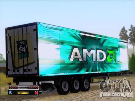 Прицеп AMD 64 Athlon X2 для GTA San Andreas вид справа