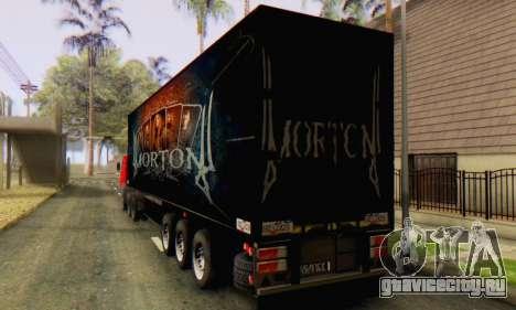 Прицеп Chereau Morton Band 2014 для GTA San Andreas вид сзади слева