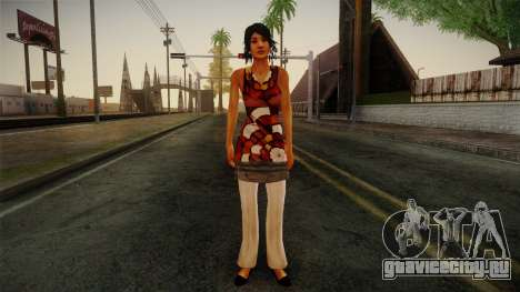 Billie from Stranglehold для GTA San Andreas