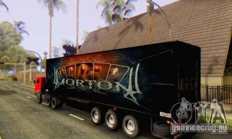 Прицеп Chereau Morton Band 2014 для GTA San Andreas вид слева