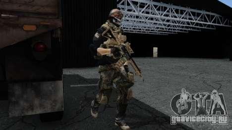 Army Ghost v2 для GTA San Andreas второй скриншот