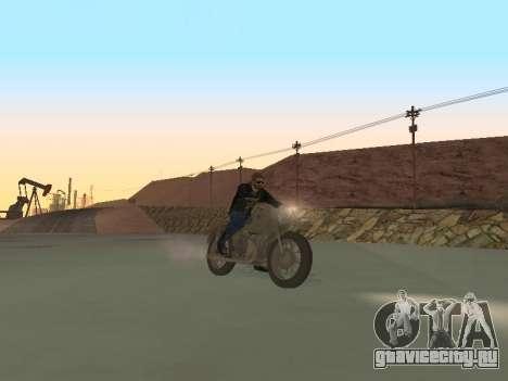 Урал М72 для GTA San Andreas вид сзади слева