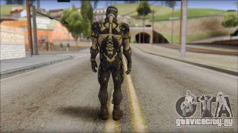 NanoSuit Skin для GTA San Andreas второй скриншот