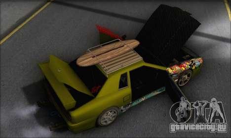 Doktor Style Elegy для GTA San Andreas вид сбоку