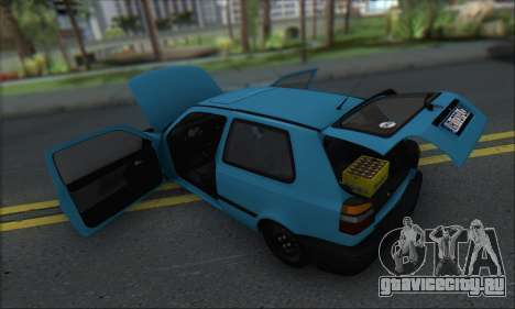 Volksvagen Golf Mk3 для GTA San Andreas вид сбоку