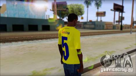 T-Shirt Colombia для GTA San Andreas второй скриншот