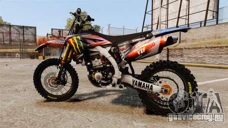 Yamaha YZF-450 v1.13 для GTA 4 вид слева