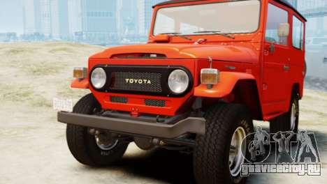 Toyota FJ40 Land Cruiser 1978 Beta для GTA 4
