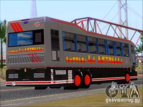 San Antonio Augusto - Empresa La Estrella для GTA San Andreas вид сзади слева