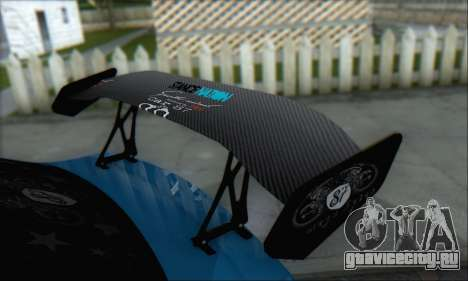 Subaru Impreza WRX STI 2010 для GTA San Andreas вид сбоку