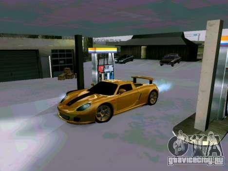 Porsche Carrera GT для GTA San Andreas вид слева