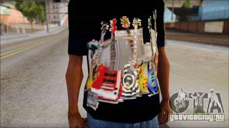 Guitar T-Shirt Mod v2 для GTA San Andreas третий скриншот