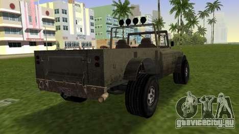 Bodhi from GTA 5 для GTA Vice City вид слева