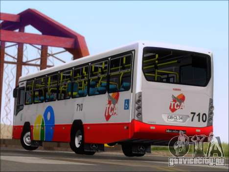 Neobus Mega IV - TCA (Araras) для GTA San Andreas вид снизу