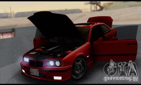 BMW M3 E36 1994 для GTA San Andreas вид сверху