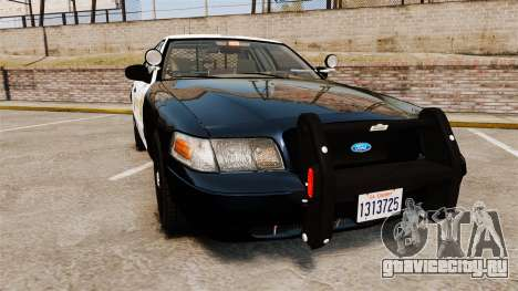 Ford Crown Victoria Sheriff [ELS] Slicktop для GTA 4