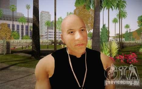 Domenic Toretto для GTA San Andreas третий скриншот