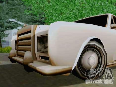 Stafford Limousine для GTA San Andreas вид справа