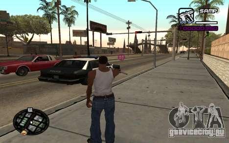 Hud by Videlka для GTA San Andreas второй скриншот