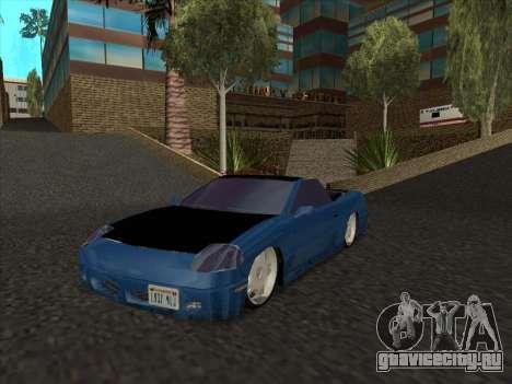 Alpha HD Cabrio для GTA San Andreas вид слева