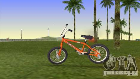 BMX from GTA San Andreas для GTA Vice City вид сзади слева