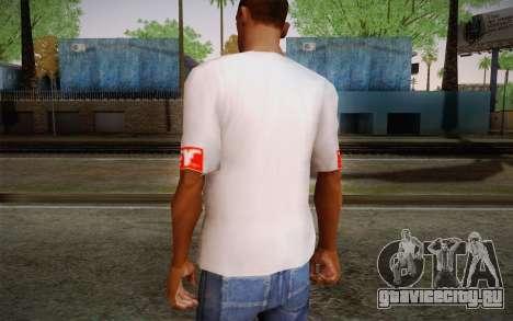 Obey Shirt для GTA San Andreas второй скриншот