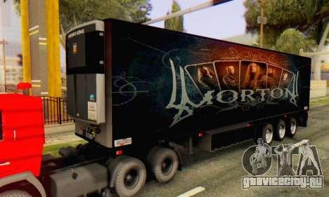 Прицеп Chereau Morton Band 2014 для GTA San Andreas
