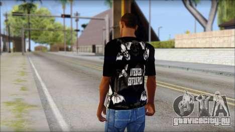 A7X Deathbats Fan T-Shirt Black для GTA San Andreas второй скриншот