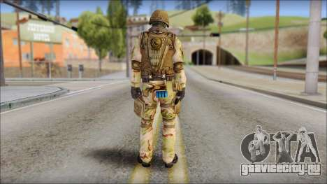 Desert GIGN from Soldier Front 2 для GTA San Andreas второй скриншот