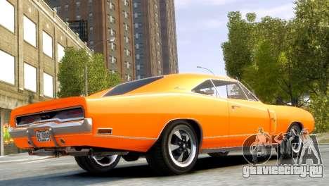 Dodge Charger RT 1970 для GTA 4 вид слева