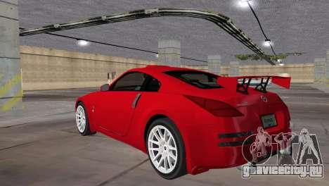 Nissan 350z Tuned для GTA Vice City вид слева