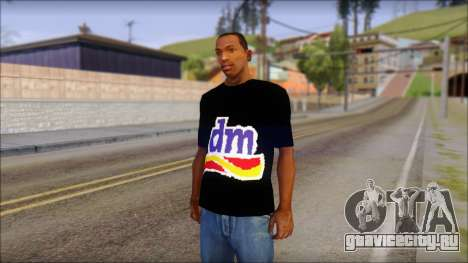 DM T-Shirt Drogerie Market для GTA San Andreas