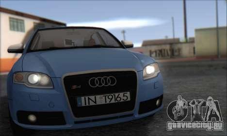 Audi S4 4.0 Quattro 2006 для GTA San Andreas вид слева