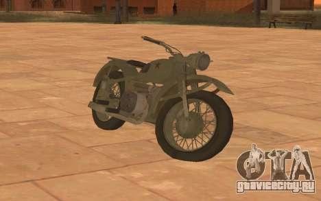 Урал М72 для GTA San Andreas